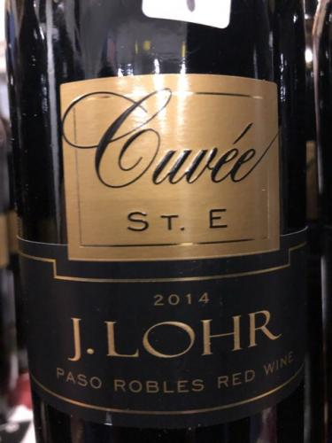 J. Lohr - Cuvée St. E - 2014