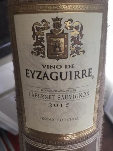 Eyzaguirre - Cabernet Sauvignon - 2008