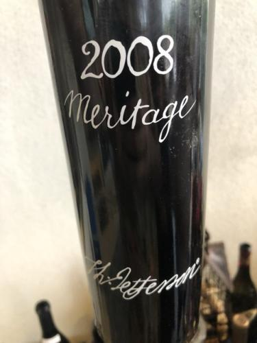 Jefferson Vineyards - Meritage - 2008