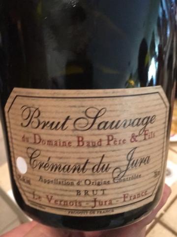Domaine Baud Père & Fils - Domaine Baud Génération 9 - Brut Sauvage Cremant Du Jura - N.V.