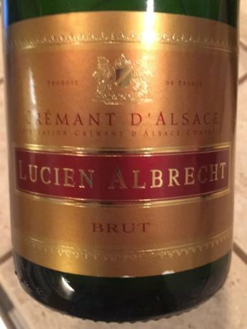 Lucien Albrecht - Cremant d'Alsace Brut Blanc de Blancs - N.V.