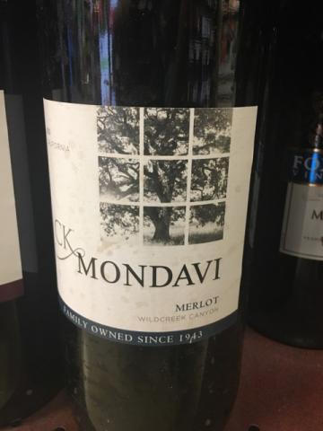 CK Mondavi - Merlot - 2013