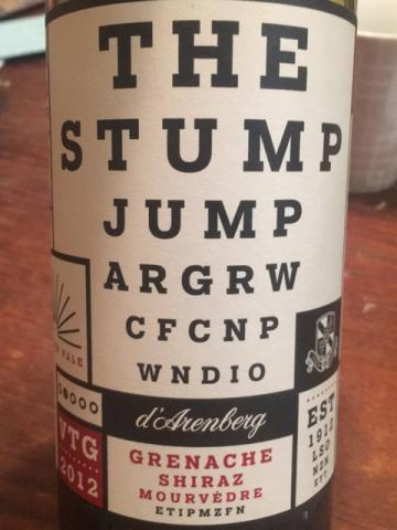 d'Arenberg - The Stump Jump -