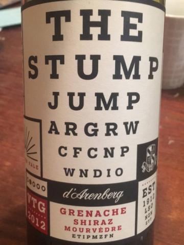 d'Arenberg - The Stump Jump -