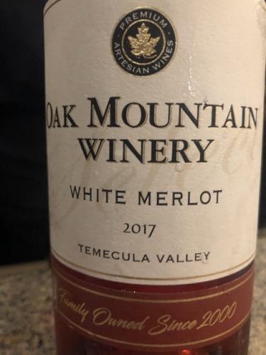 Oak Mountain - Estate Merlot - 2017