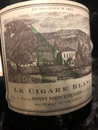 Bonny Doon - Le Cigare Blanc - 2014