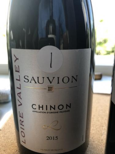Sauvion - Chinon - 2015
