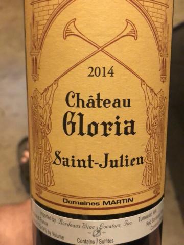 Château Gloria - Saint-Julien - 2014