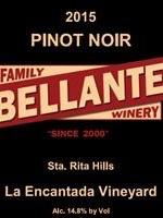 Bellante Family Winery - Pinot Noir - 2015