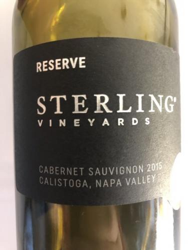 Sterling Vineyards - Napa Valley Cabernet Sauvignon - 2015