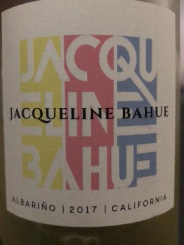 Jacqueline Bahue - Albariño - 2017