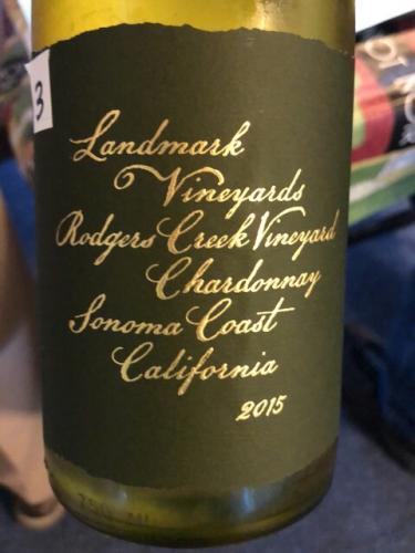 Landmark Vineyards - Rodgers Creek Vineyard Chardonnay - 2015