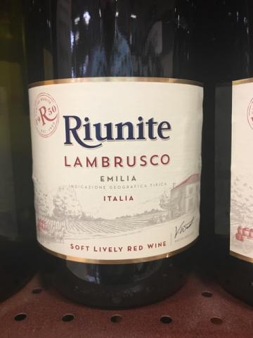 Riunite - Lambrusco Emilia - N.V.