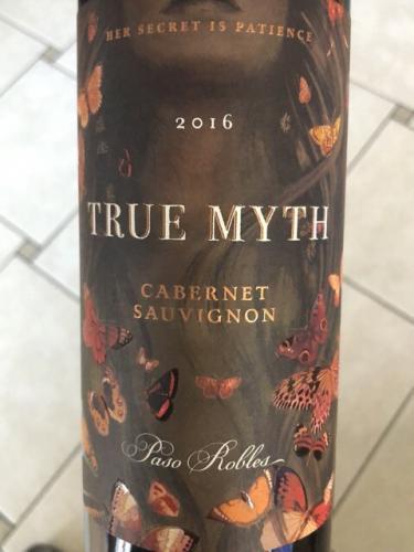 True Myth - Cabernet Sauvignon - 2016