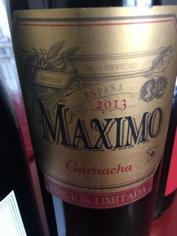 Maximo - Garnacha - 2012