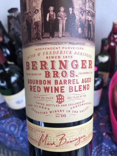 Beringer - Beringer Bros. Bourbon Barrel Aged Red Blend - 2016