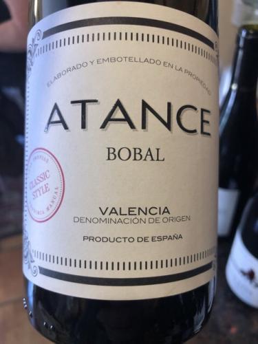 Atance - Bobal - 2015