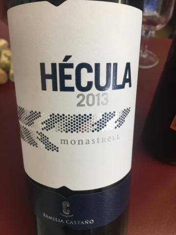 Familia Castaño - Hécula Monastrell - 2013
