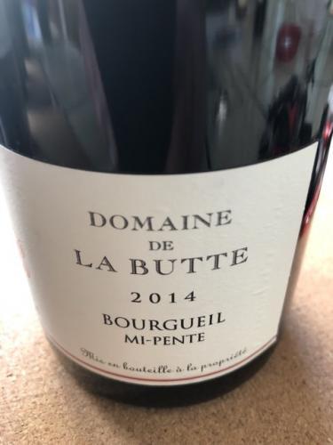 Domaine de la Butte - Mi-Pente Bourgueil - 2014