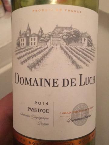 Domaine de Luche - Pays Chardonnay - 2014