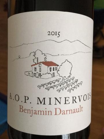 Benjamin Darnault - Minervois - 2015