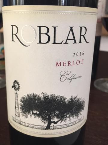 Roblar Winery - California Merlot - 2015