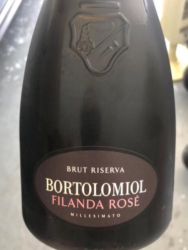 Bortolomiol - Filanda Rosé Brut Millesimato Riserva - 2017