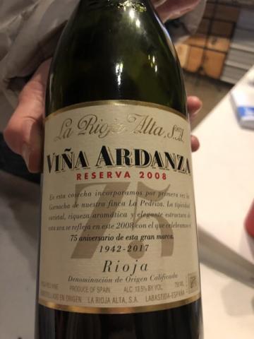 La Rioja Alta - Viña Ardanza Reserva Especial - 2017