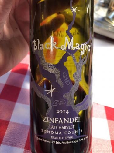 Carol Shelton - Black Magic Late Harvest Zinfandel - 2014