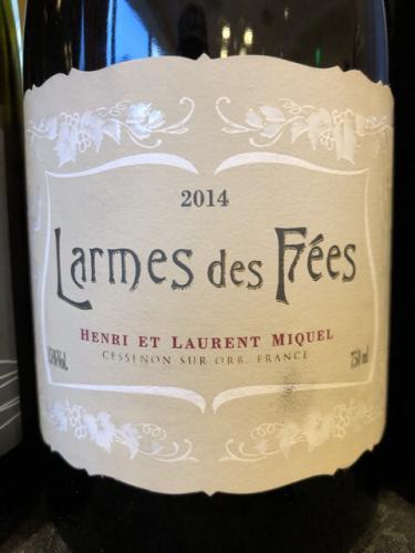 Laurent Miquel - Larmes des Fées - 2014