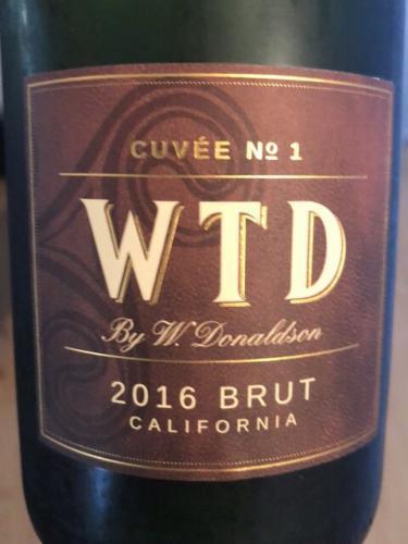 W. Donaldson - Cuvée No.2 WTD Brut - 2016