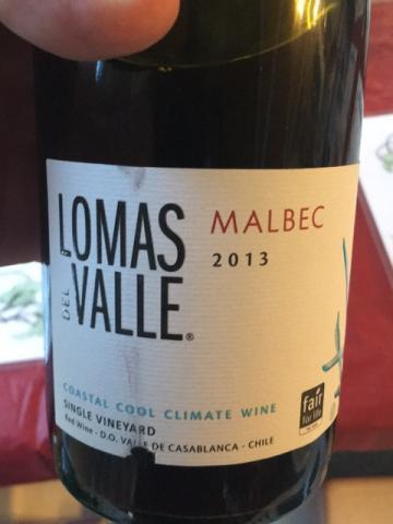 Lomas del Valle - Malbec - 2013