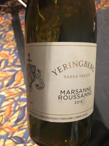 Yeringberg - Yarra Valley Marsanne Roussanne -