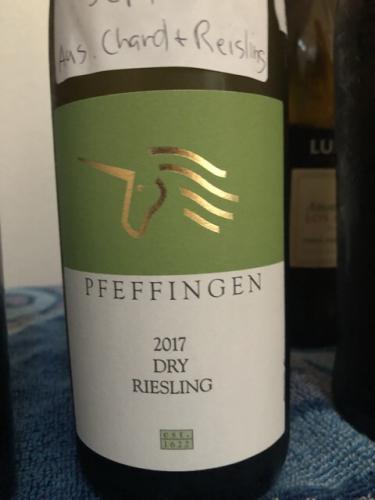 Pfeffingen - Dry Riesling - 2017