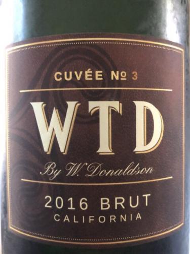 W. Donaldson - Cuvée No.3 WTD Brut - 2016