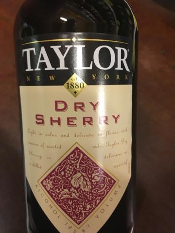 Taylor - Dry Sherry - N.V.