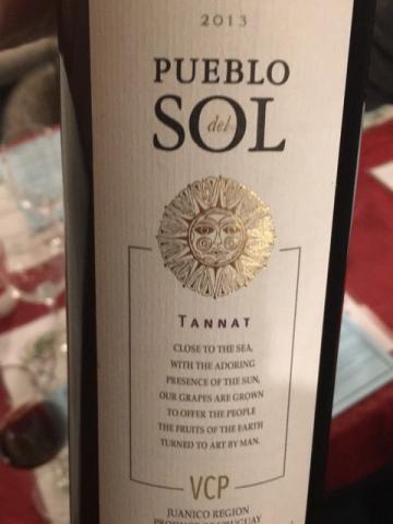 Pueblo del Sol - Tannat - 2013