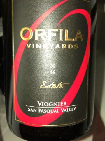 Orfila Vineyards - Lotus Viognier - 2016