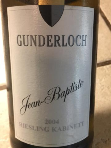 Weingut Gunderloch - Jean-Baptiste Riesling Kabinett - 2004