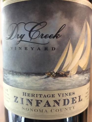 Dry Creek Vineyard - Zinfandel Heritage Vines - 2016