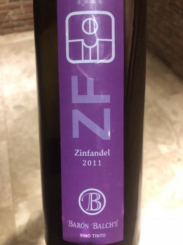 Baron Balche - Zinfandel - 2011
