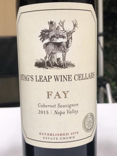 Stag's Leap Wine Cellars - FAY Cabernet Sauvignon - 2015