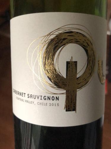 I Wines - Qu Cabernet Sauvignon - 2015