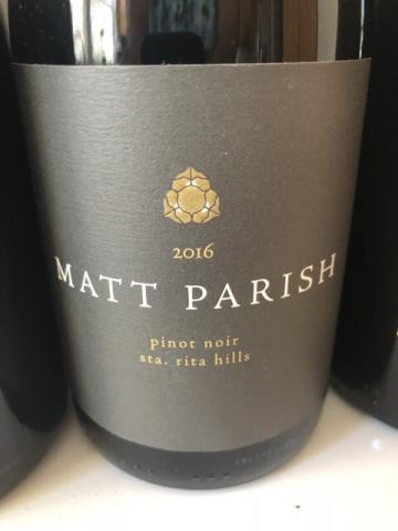 Matt Parish - Sta.Rita Hills Pinot Noir - 2016