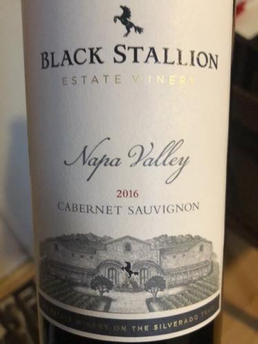 Black Stallion - Cabernet Sauvignon - 2016