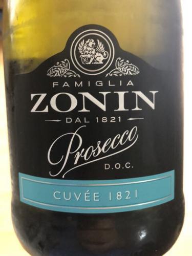 Zonin - Prosecco Cuvée 1821 - N.V.