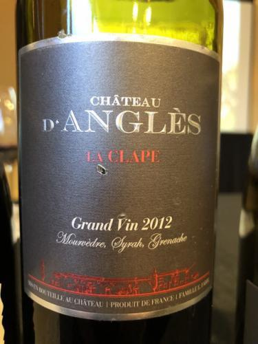 Château d'Anglès - La Clape (Grand Vin) Rouge - 2012