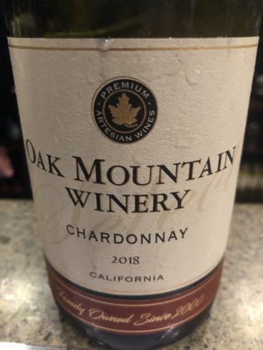 Oak Mountain - Chardonnay - 2018