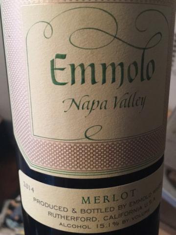 Emmolo - Merlot - 2014
