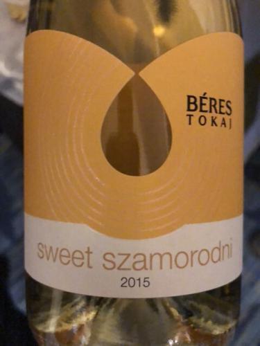 Béres - Édes Szamorodni Sweet - 2015